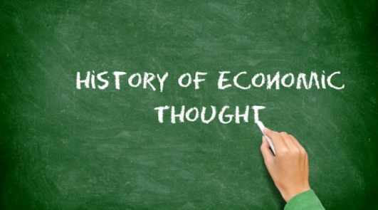 5 skarpe om History of Economic Thought