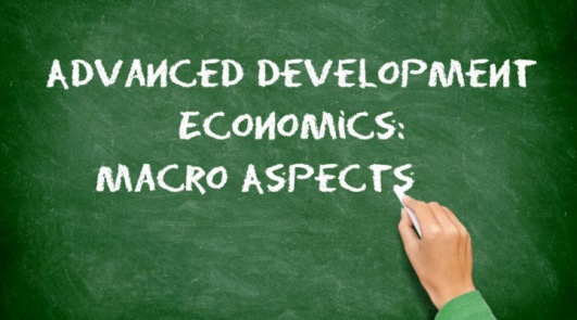 5 skarpe om Advanced Development Economics: Macro Aspects