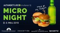 Altandetlige.dk inviterer til Micro Night