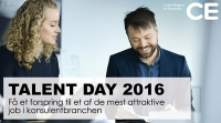 Deltag i Talent Day 2016