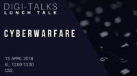 Lunch Talk: Cyberwarfare i et samfundsperspektiv