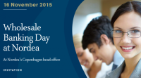 Wholesale Banking Day at Nordea