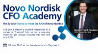 Novo Nordisk inviterer til CFO Academy