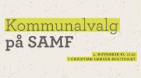 Kommunalvalg på SAMF