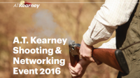 A.T. Kearney shooting & networking event 2016
