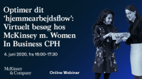 Virtuelt besøg hos McKinsey med Women In Business CPH