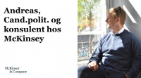 Cand.polit. hos McKinsey & Company