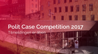 Tilmeldingen til Polit Case Competition er åben