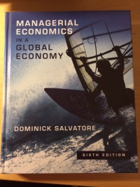 Managerial Economics in a Global Economy af Dominic Salvatore