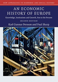 An Economic History of Europe: Knowledge, Institutions and Growth, 600 to the Present (New Approaches to Economic and Social History) af Karl Gunnar Persson og Paul Sharp