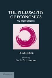 The Philosophy of Economics af Daniel M. Hausman