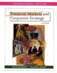 Financial Markets & Corporate Strategy af Mark Grinblatt og Sheridan Titman
