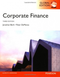 Corporate Finance af Jonathan Berk og Peter DeMarzo