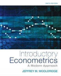 Introductory Econometrics: A Modern Approach (Upper Level Economics Titles) af Jeffrey Wooldridge