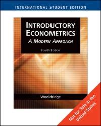 Introductory Econometrics - A Modern Approach af Jeffrey Wooldridge