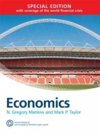 Economics af Mark P. Taylor og N. Gregory Mankiw