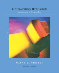 Operations Research - Applications and Algorithms